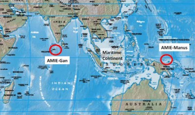 ARM field campaigns on Gan Island, Maldives, and Manus Island, Papua New Guinea will contribute significantly to concurrent national and international research efforts addressing the question of how the MJO initiates and changes as it passes over the Maritime Continent, and how this differs in observations versus models.