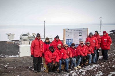 The AWARE team has collected Antarctica's first measurements of certain cloud types of cloud systems that have a large impact on radiative fluxes and the hydrologic cycle: mixed-phase. Mixed-phase clouds are comprised of water with ice and occur below freezing, yet their phases are poorly understood and, therefore, their impact on climate predictions are highly uncertain.