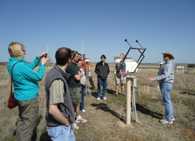 Dave Turner explains the measurements obtained by a variety of radiometers at the SGP site.