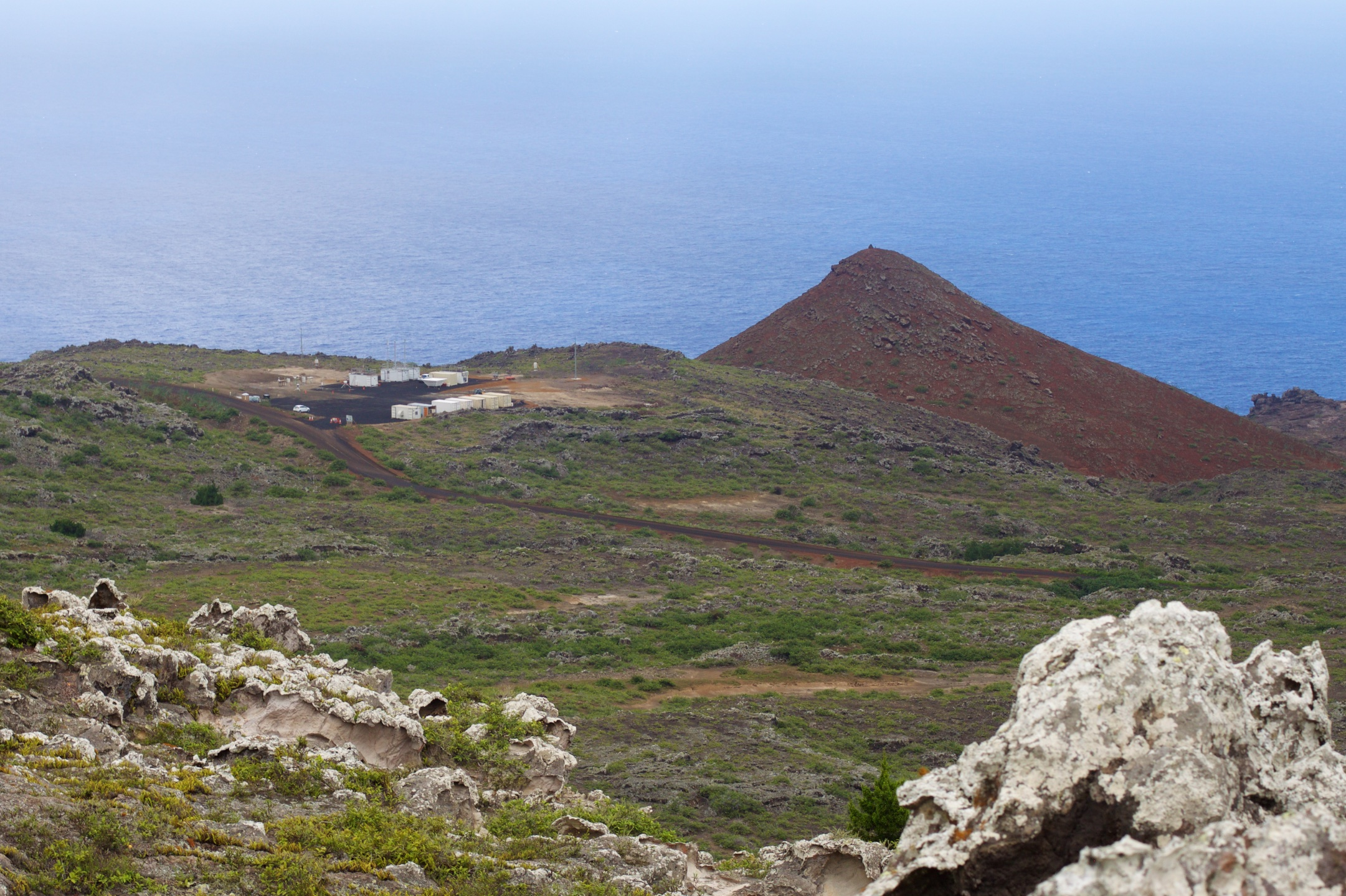 The first ARM Mobile Facility is deployed on Ascension Island for the LASIC campaign.