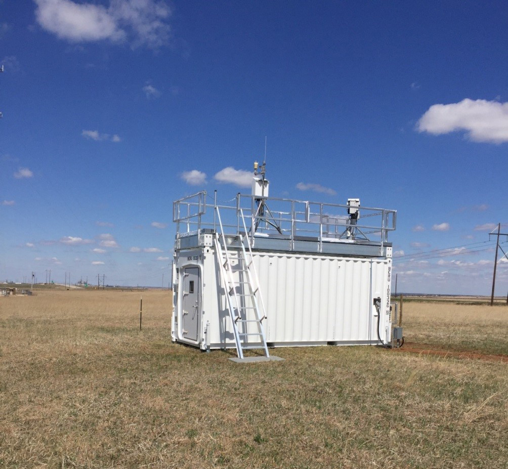 A new extended facility site (39) was installed, including 3-channel microwave radiometer.