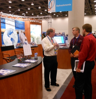 McCord supported ARM's exhibit at the 2011 American Geophysical Union (AGU) Fall Meeting.