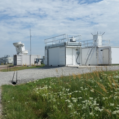 The Raman lidar at the SGP has been updated and moved closer to other instruments so their measurements can be combined.