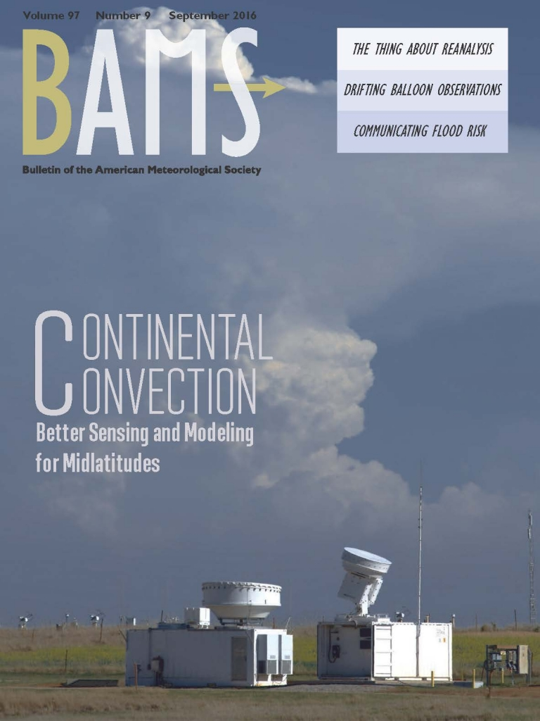 From a Convective Clouds Campaign, a BAMS Cover and Scads of Rich Data