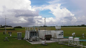 Pictured here in Gan, the second mobile facility is configured in a standard layout.