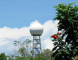 New C-band scanning ARM precipitation radar on Manus Island