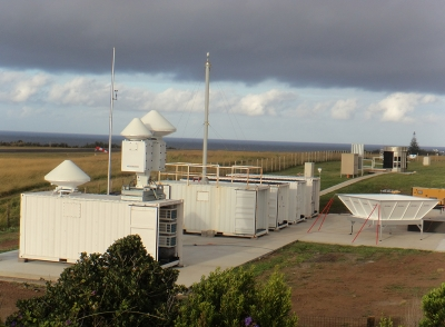 Located on Graciosa Island in the Azores, the ARM Facility Eastern North Atlantic radars face a different set of challenges and focus area—cloud, precipitation, and aerosol interactions.