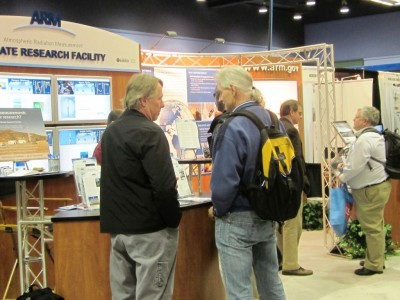 During the two annual meetings attended by the ARM Facility, over 750 visitors stopped by the exhibit to learn how they can participate.