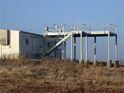ARM's Guest Instrument Facility at the SGP site near Lamont, Oklahoma.