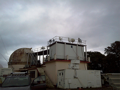 The ARM Mobile Facility (AMF) is operating at the ARIES Observatory in Nainital from June 2011 to March 2012.