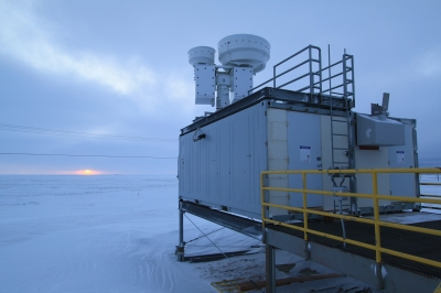 From 2000 to the end of 2010, 3300 measurements were obtained at ARM's North Slope of Alaska site for the study.