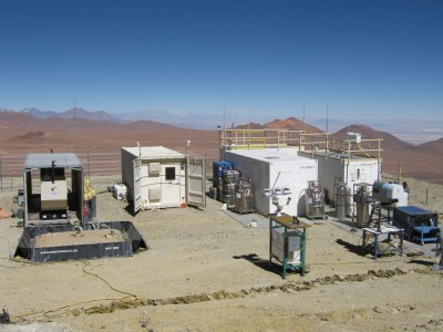For two months, the Self-Kontained Instrument Platform is the high-altitude home of nearly two dozen instruments for the RHUBC-II campaign on Cerro Toco.