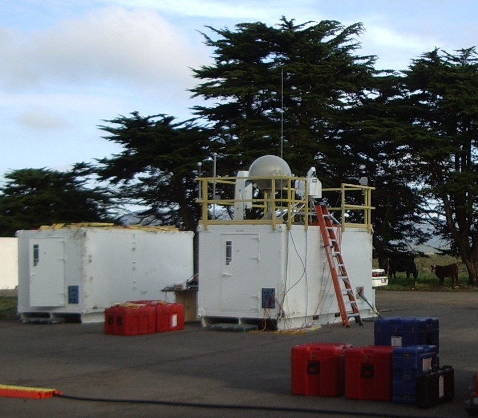 Image - The ARM Mobile Facility in Point Reyes, California