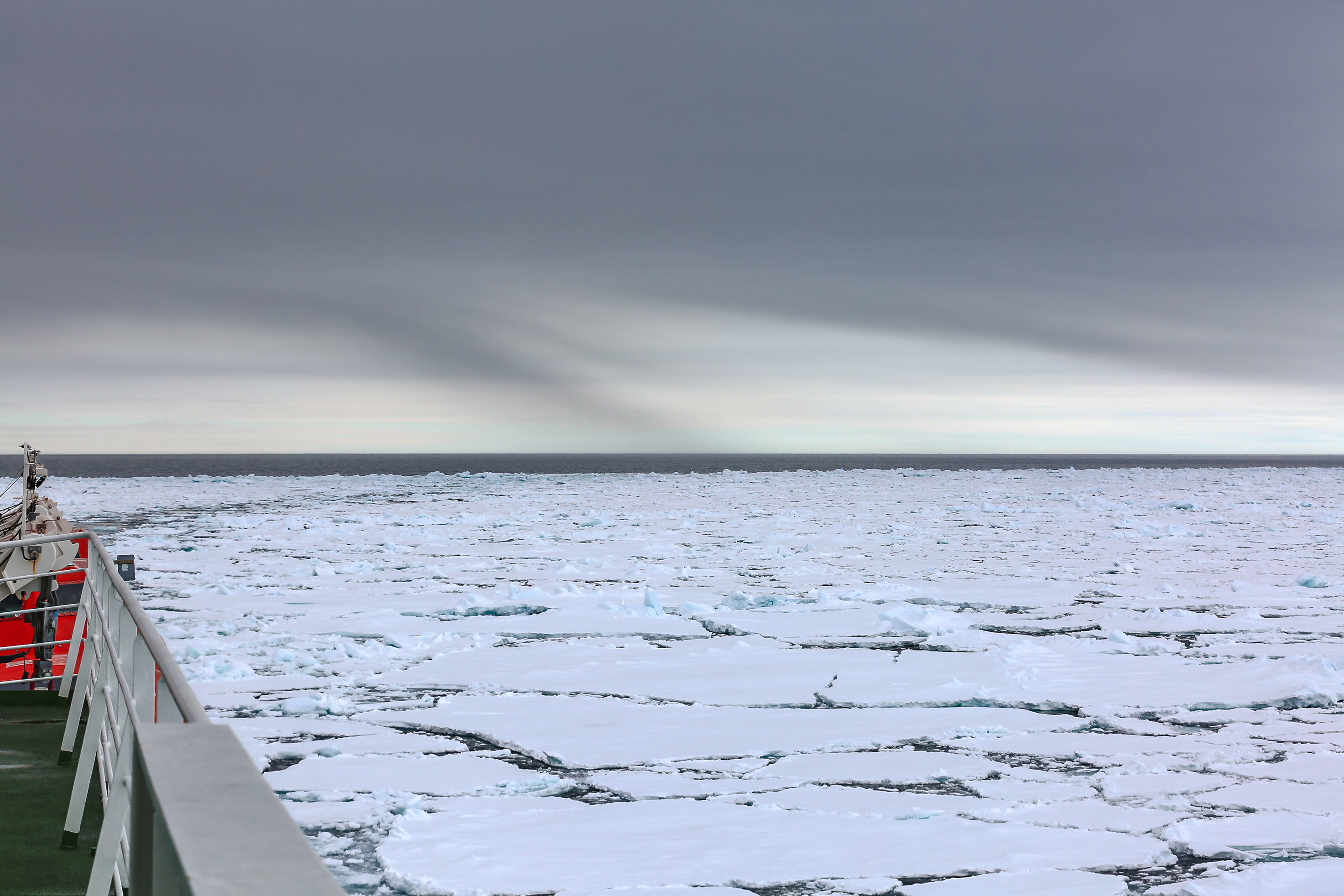 Ice and clouds during the MOSAiC expedition
