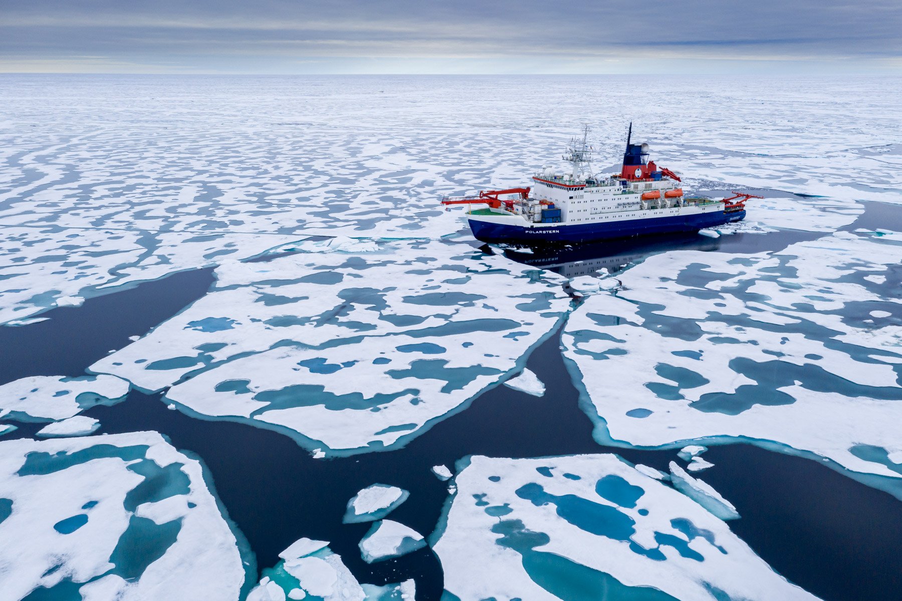MOSAiC Expedition Reaches the North Pole