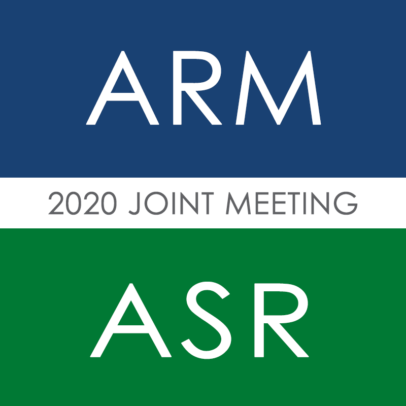 2020 ARM/ASR joint meeting