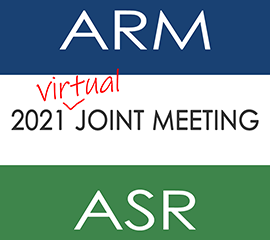Save the Date for the 2021 ARM/ASR Joint Meeting!