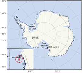 Large-Scale Forcing Data Released for West Antarctic Campaign