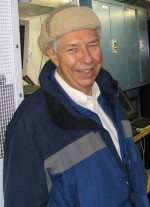 Bernie Zak, ARM's first North Slope of Alaska site manager