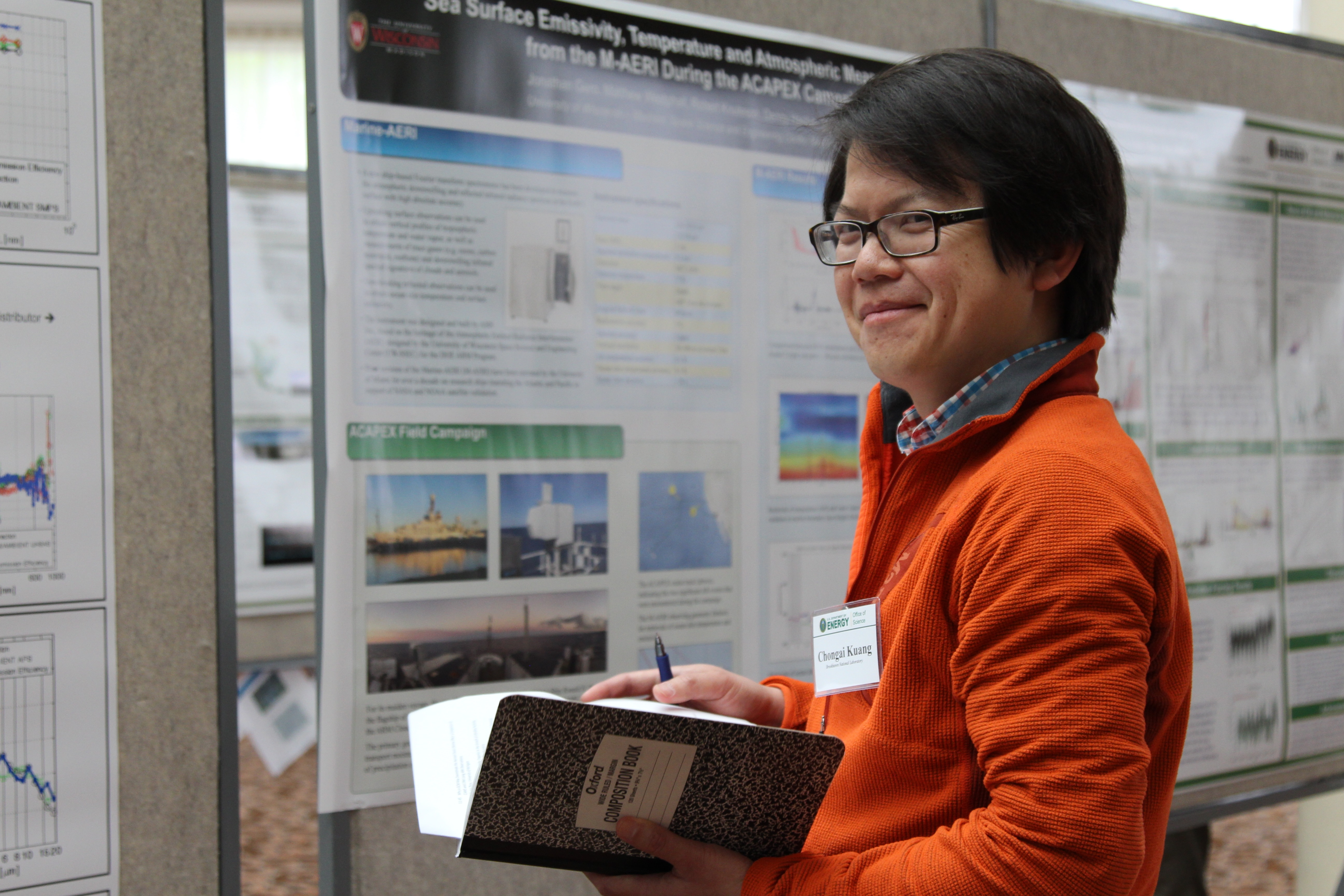 Chongai Kuang of Brookhaven National Laboratory