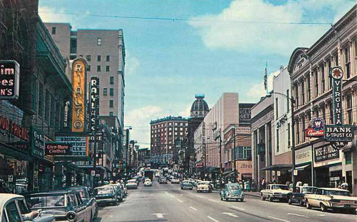 Danville, Virginia, in the early 1960s