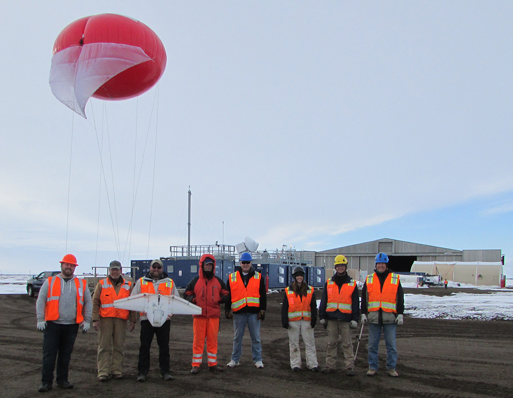 The Team of the Arctic Eyes in the Sky