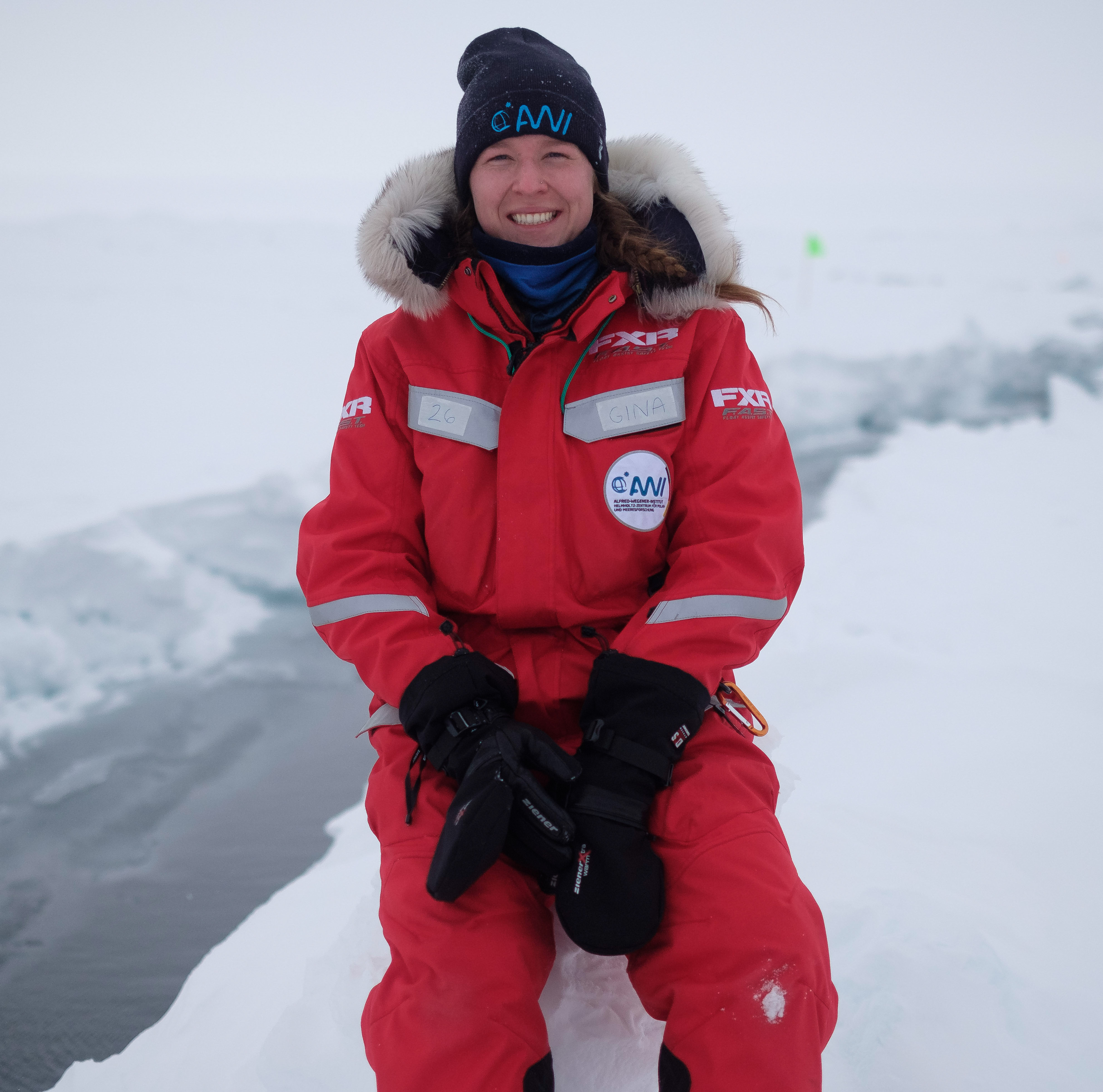 Gina Jozef during MOSAiC expedition