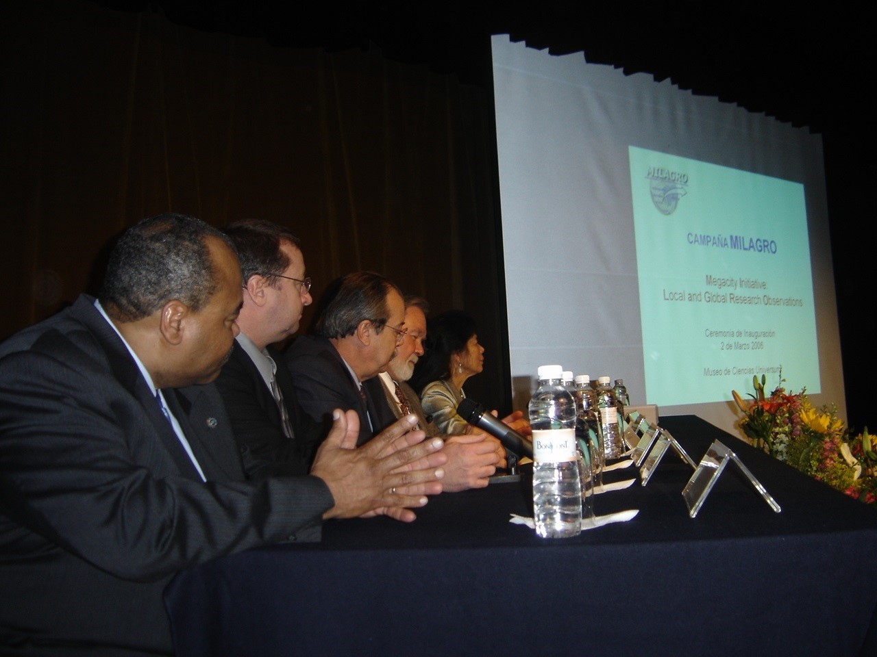 Rickey Petty during 2006 Mexico City panel on urban air pollution