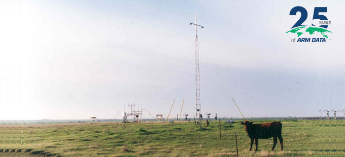 Standard-Setting ARM Data Started in a Pasture 25 Years Ago