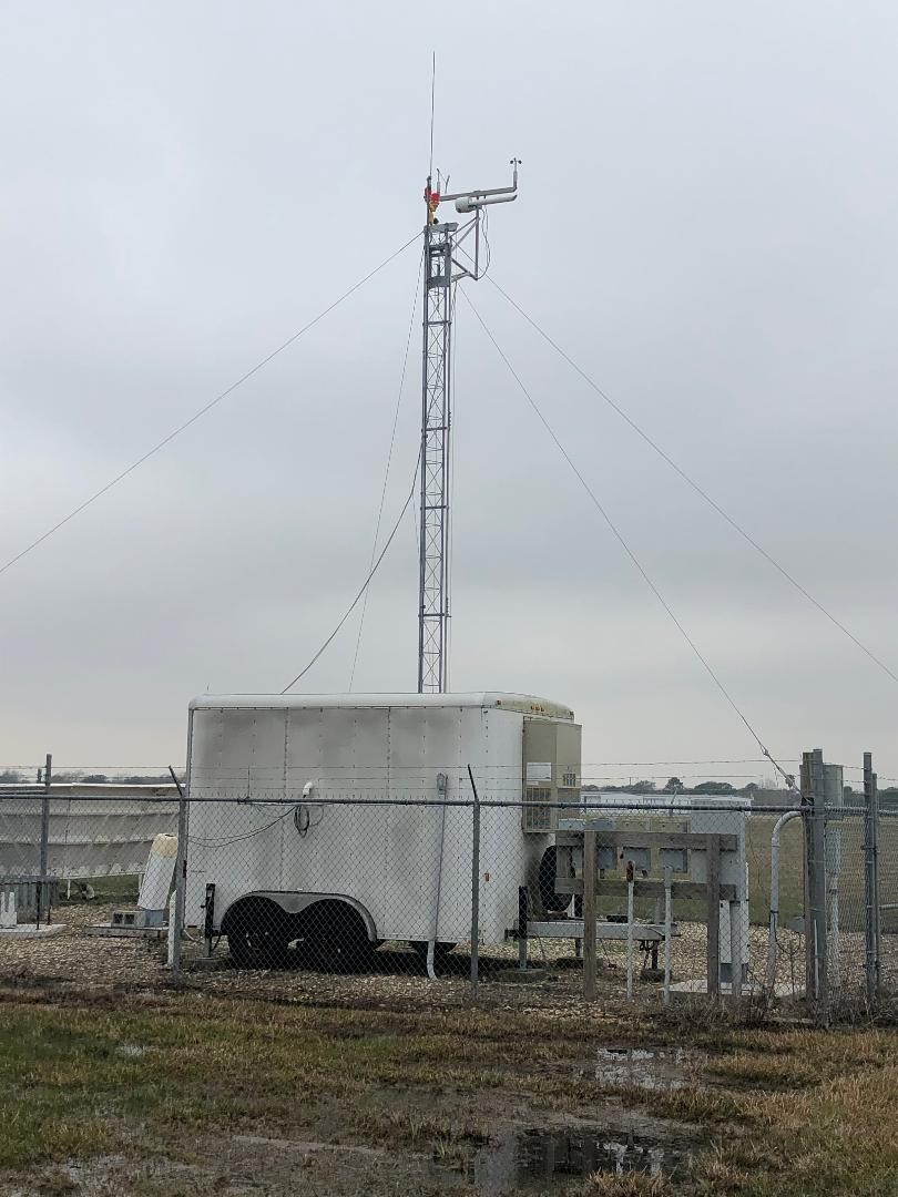 Texas Commission on Environmental Quality monitoring station