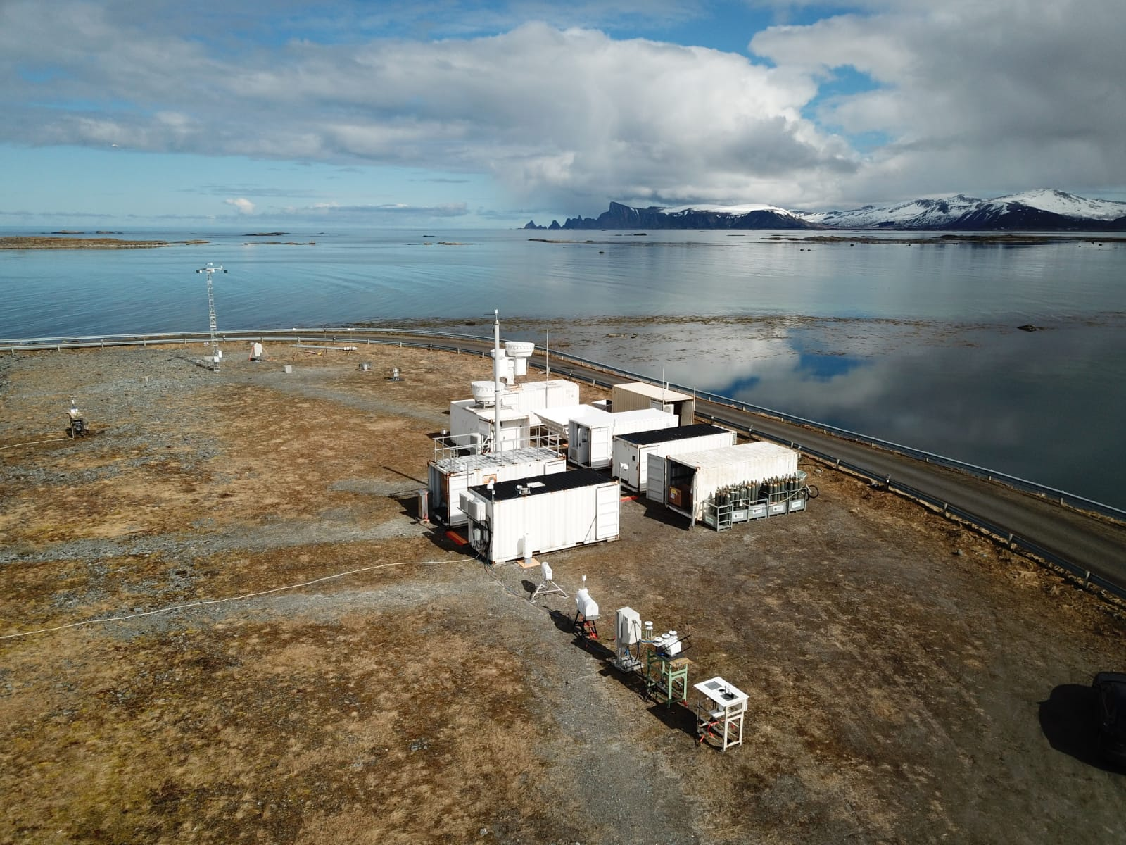 First ARM Mobile Facility (AMF1) sited on Norwegian Sea for COMBLE field campaign