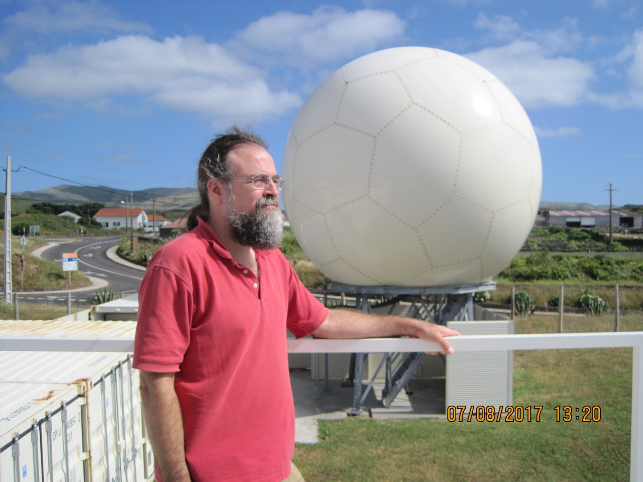 Edward Luke at ARM's Eastern North Atlantic atmospheric observatory