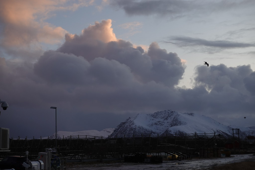 Clouds during COMBLE field campaign in northern Norway