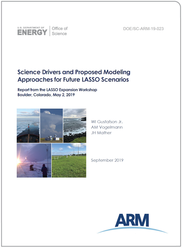 Science drivers and proposed modeling approaches for future LASSO scenarios, report from the LASSO Expansion Workshop