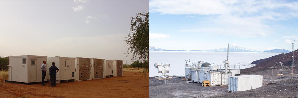 ARM Mobile Facilities in Niger and Antarctica