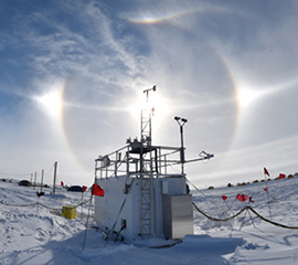 With ARM Instruments Watching, an Extensive Summer Melt in West Antarctica
