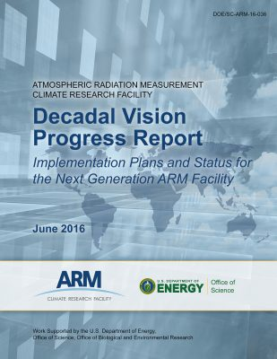 Decadal Vision Progress Report Cover